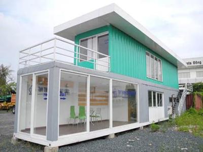 Mẫu nhà container 1