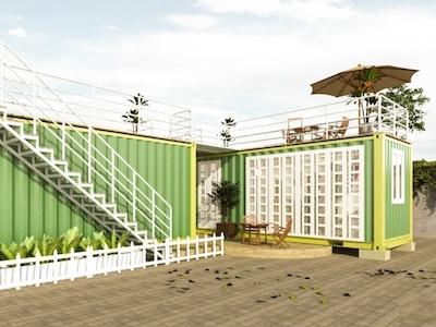 Mẫu nhà container 4